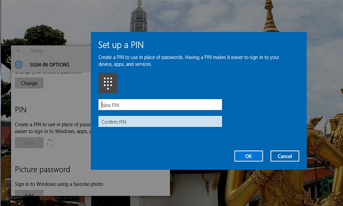 Password in Windows 10 13