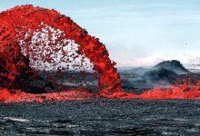 Photo of ภาพการปะทุของภูเขาไฟในฮาวาย 1969 – 1974