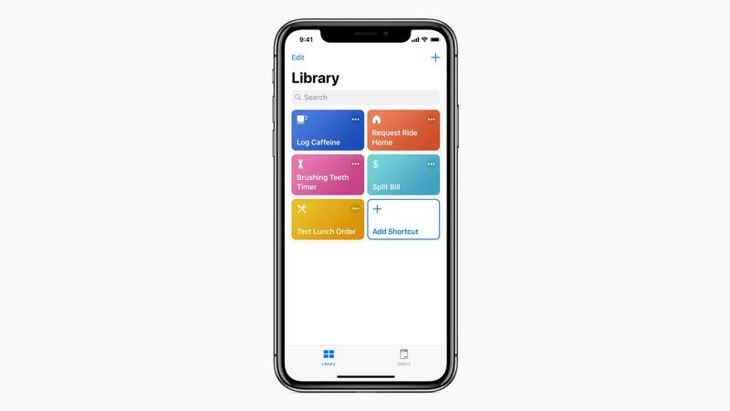 Siri Shortcuts IOS12