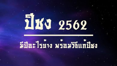 Photo of ปีชง 2562 (ปีกุน) มีปีอะไรบ้าง พร้อมวิธีแก้ปีชง