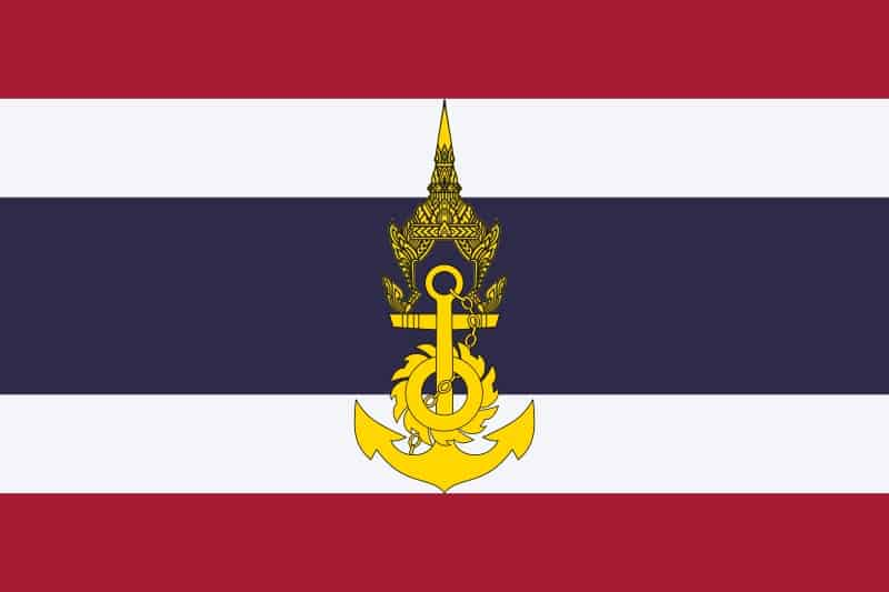 ธงฉานกองทัพเรือไทย
