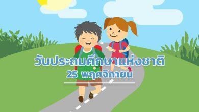 Photo of วันประถมศึกษาแห่งชาติ 25 พฤศจิกายน 2562 มีความเป็นมาอย่างไร