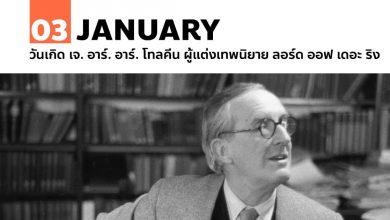 Photo of 3 มกราคม วันเกิด เจ. อาร์. อาร์. โทลคีน