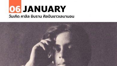 Photo of 6 มกราคม วันเกิด คาลิล ยิบราน ศิลปินชาวเลบานอน