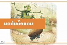 Photo of นิทานอีสป : มดกับตั๊กแตน (The Ants & the Grasshopper)