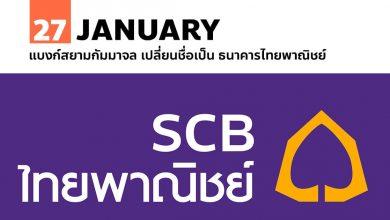 Photo of 27 มกราคม แบงก์สยามกัมมาจล เปลี่ยนชื่อเป็น ธนาคารไทยพาณิชย์