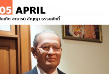 Photo of 5 เมษายน วันเกิด อาจารย์ สัญญา ธรรมศักดิ์