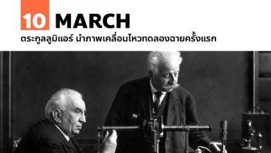 Photo of 10 มีนาคม ตระกูลลูมิแอร์ นำภาพเคลื่อนไหวทดลองฉายครั้งแรก