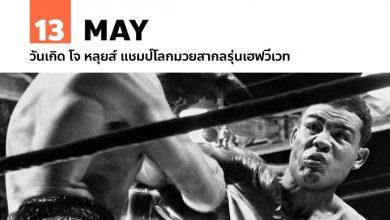 Photo of 13 พฤษภาคม วันเกิด โจ หลุยส์ แชมป์โลกมวยสากลรุ่นเฮฟวีเวท