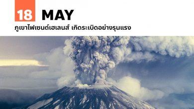 Photo of 18 พฤษภาคม ภูเขาไฟเซนต์เฮเลนส์ เกิดระเบิดอย่างรุนแรง