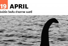 Photo of 19 เมษายน โรเบิร์ต วิลสัน ถ่ายภาพ เนสซี