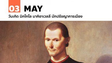 Photo of 3 พฤษภาคม วันเกิด นิกโกโล มาคิอาเวลลี นักปรัชญาการเมือง