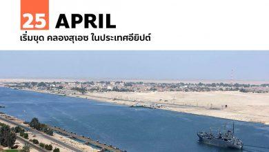 Photo of 25 เมษายน เริ่มขุด คลองสุเอซ ในประเทศอียิปต์