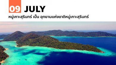 Photo of 9 กรกฎาคม หมู่เกาะสุรินทร์ เป็น อุทยานแห่งชาติหมู่เกาะสุรินทร์
