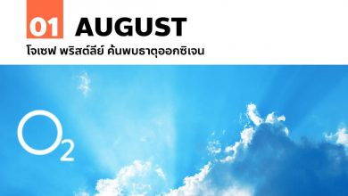 Photo of 1 สิงหาคม โจเซฟ พริสต์ลีย์ ค้นพบธาตุออกซิเจน