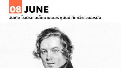 8 มิถุนายน วันเกิด โรเบิร์ต อเล็กซานเดอร์ ชูมันน์ คีตกวีชาวเยอรมัน