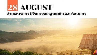 Photo of 28 สิงหาคม อำเภอพระเยา ได้รับการยกฐานะเป็น จังหวัดพะเยา