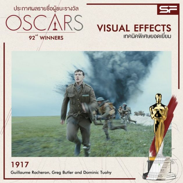 Oscars 2020 Best Visual Effects