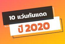 Photo of 10 แว่นกันแดด ปี 2020 ยี่ห้อไหนดีมาดูกัน