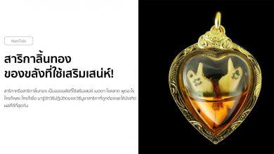 Photo of สาริกาลิ้นทอง ของขลังที่ใช้เสริมเสน่ห์ เมตตามหานิยม!